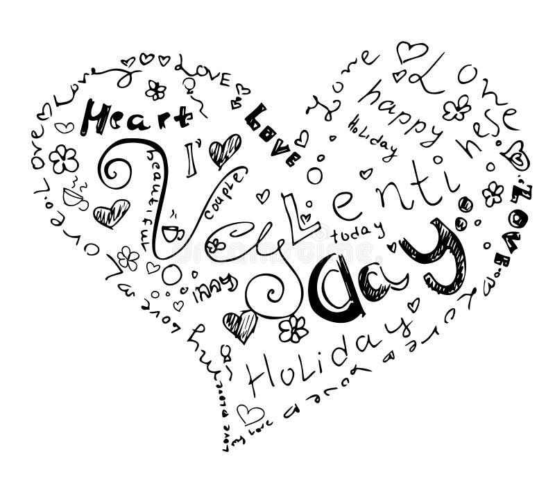 Download Valentinstagherz Vom Symbol Vektor Abbildung - Illustration: 107252362