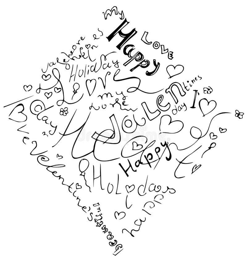 Download Valentinstagherz Vom Symbol Vektor Abbildung - Illustration: 107321211