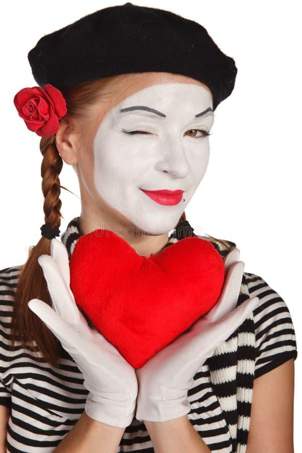 Valentinstagkonzept stockbilder
