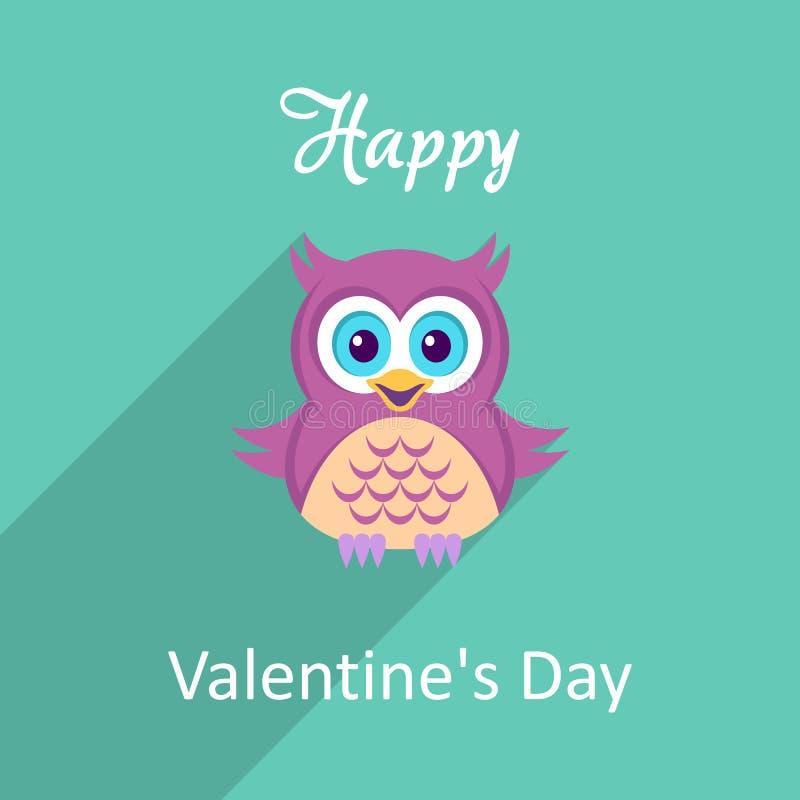 Valentinvektorkort vektor illustrationer