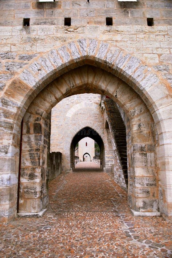 Download Valentre Bridge In Cahors France Stock Photo - Image of architecture, european: 4377942