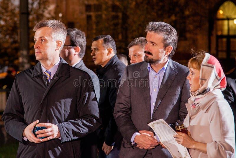 Valentyn Nalyvaichenko - 13th Head of the Security Service of Uk stock photos