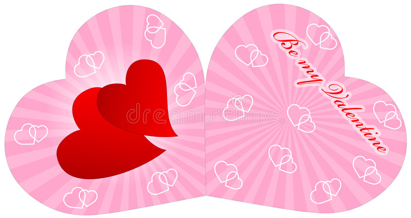 Valetine card stock photography