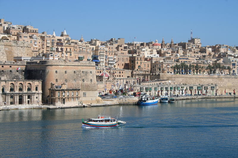 Download Valetta Skyline, Malta editorial photo. Image of cities - 25256656