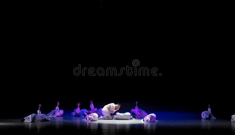 Valeur-danse Refléter-indépendante avec un ` de danse du ` s de masque-Huang Mingliang aucun ` d'abri image stock