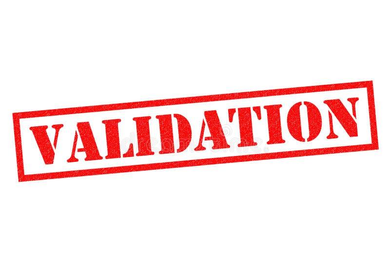 validation illustration stock