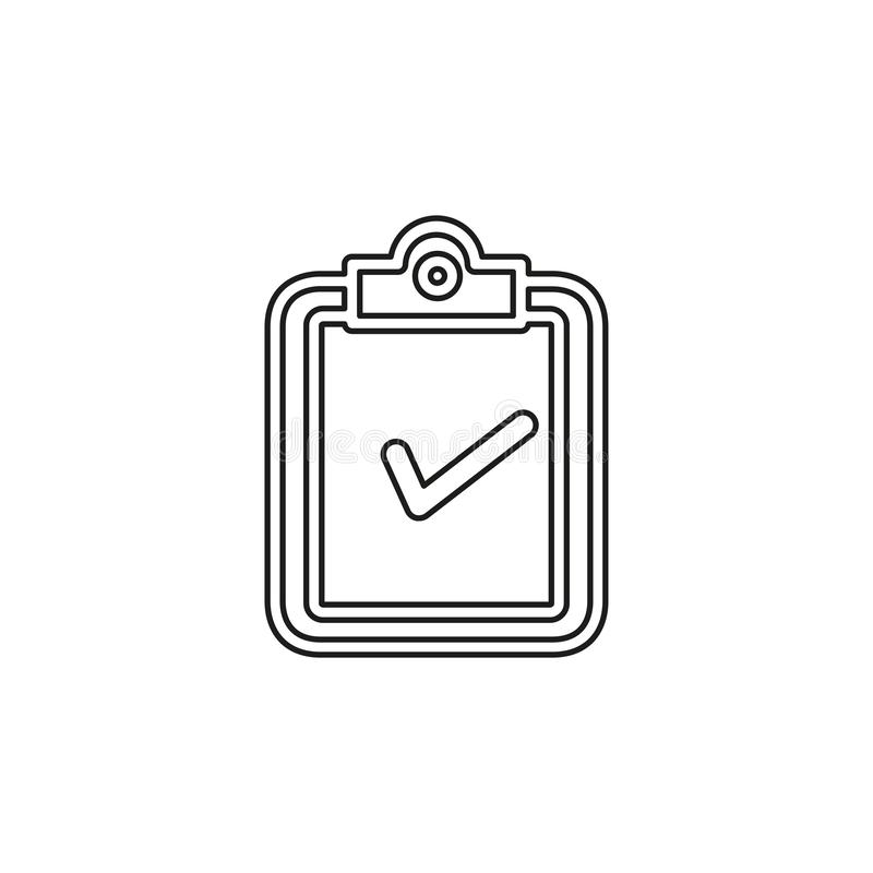 Validation concept icon. element illustration. stock illustration