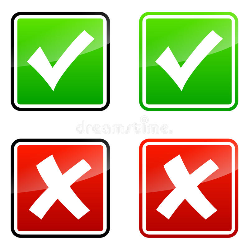 Validation icons vector illustration