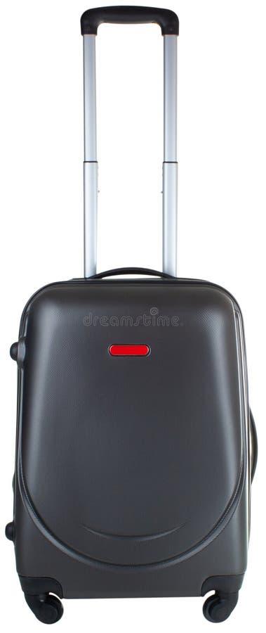 Valise avec la longue poignée photos stock