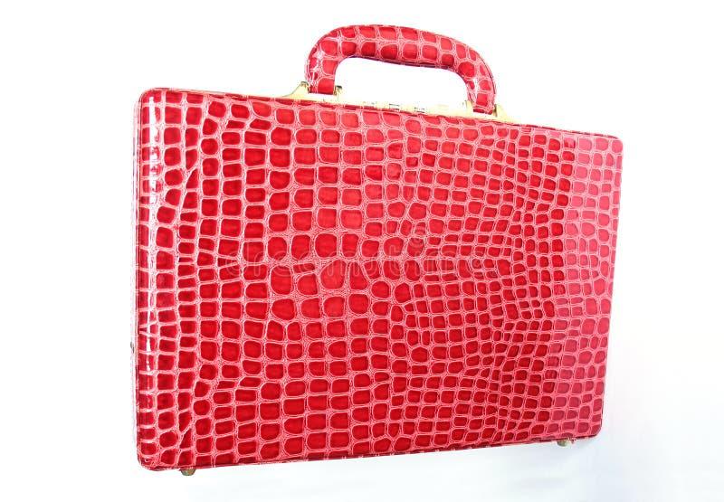 Download Valise En Cuir Rouge D'isolement Sur Le Blanc Image stock - Image du conception, handbag: 77150759