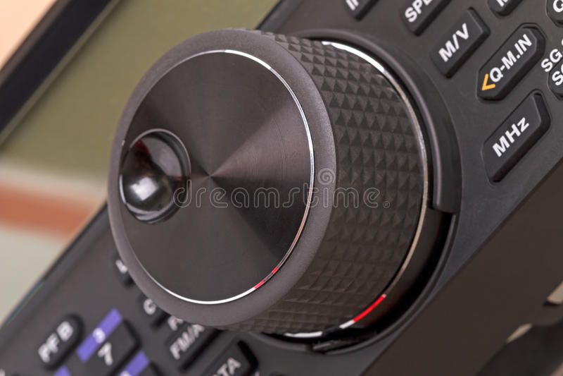 Valkoder - transmisor-receptor giratorio del control imágenes de archivo libres de regalías