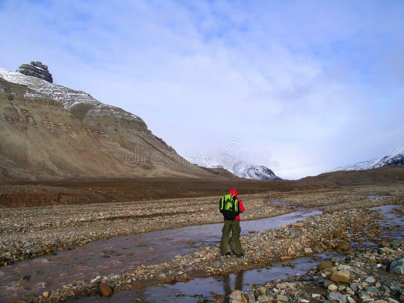 Vallée arctique image libre de droits