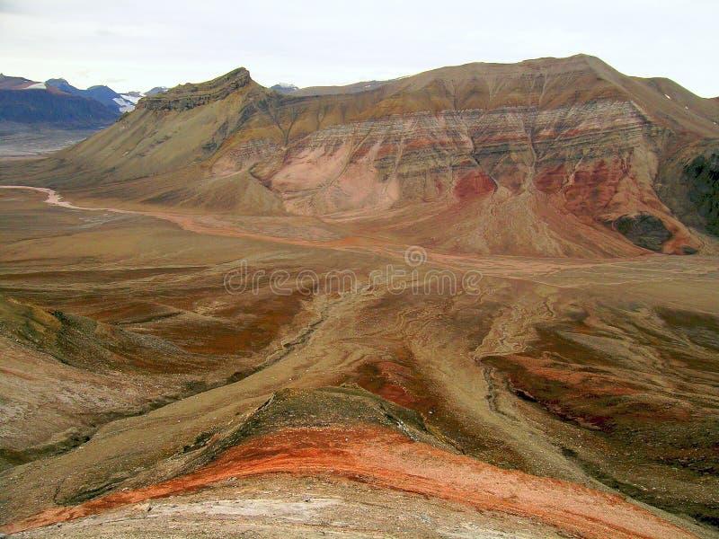 Vallée arctique photo libre de droits