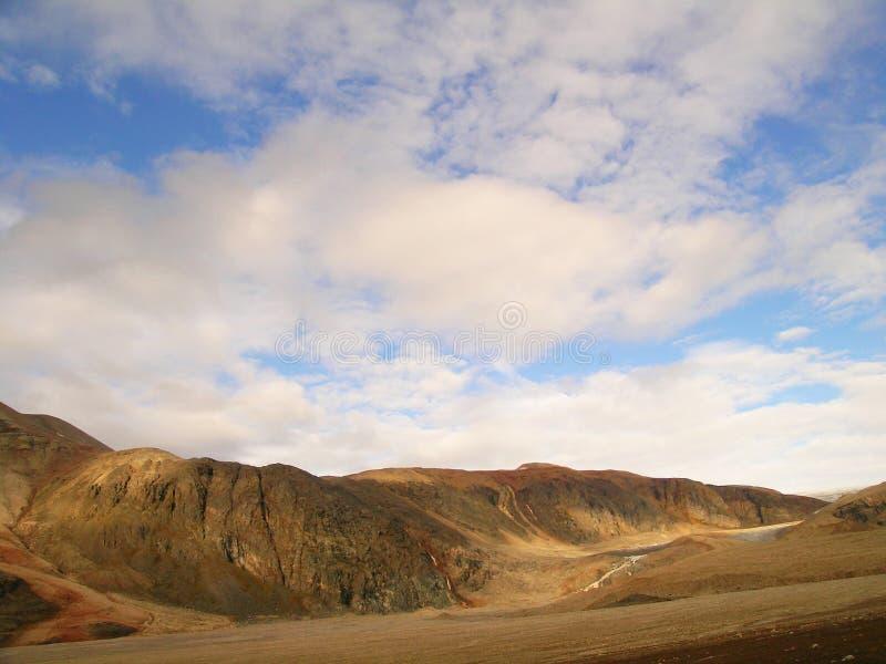 Vallée arctique images stock