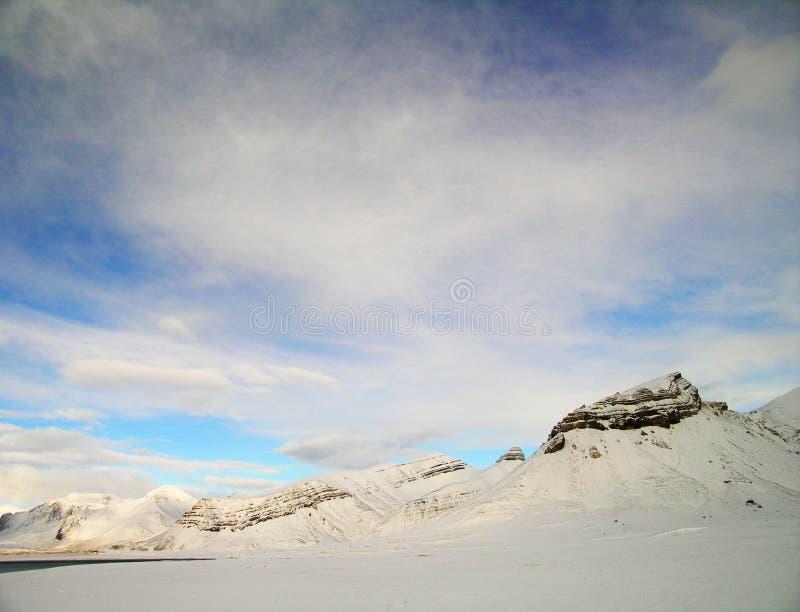 Vallée arctique photos libres de droits