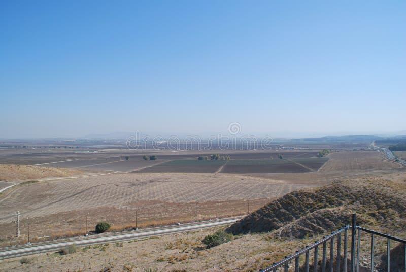 Vallée d'Armageddon image stock