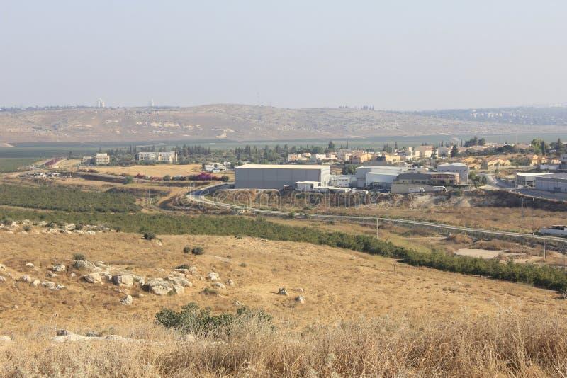 Vallée d'Ayalon en Israël photographie stock libre de droits