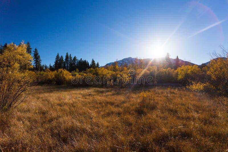Vallée d'espoir, la Californie, Etats-Unis images libres de droits