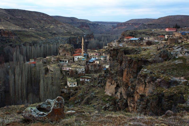Vallée d'Ihlara, Belisirma, Turquie photos stock