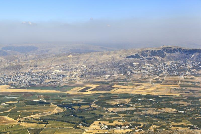 Download Vallée de Beqaa, Liban photo stock. Image du scénique - 76076358