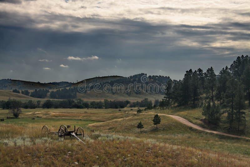 Vallée de Black Hills image libre de droits