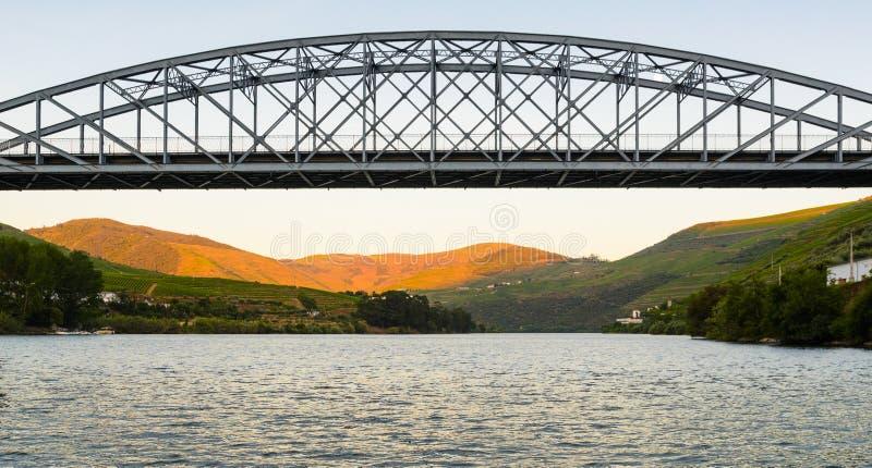 Vallée de Douro de rivière, Portugal photo libre de droits
