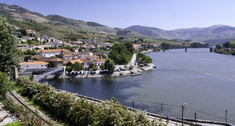 Vallée de Douro, Portugal rural photo stock