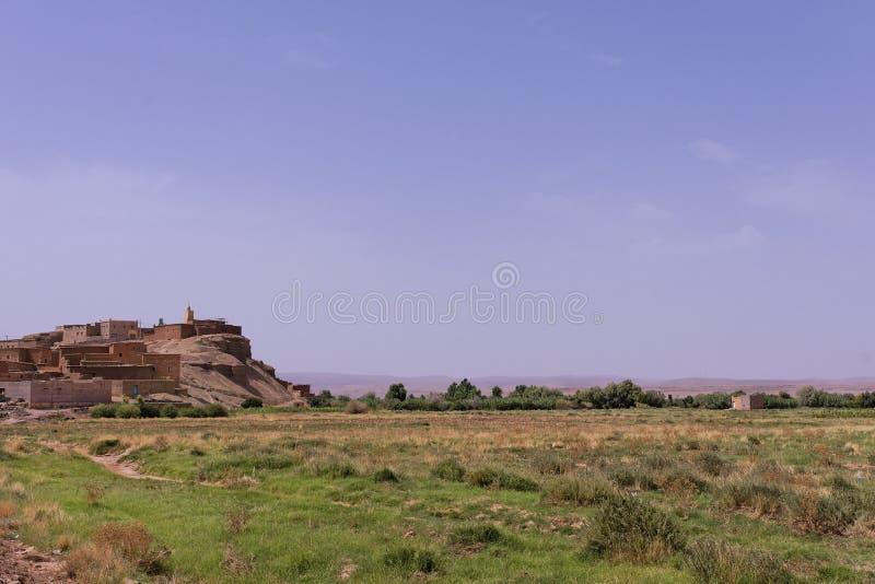 Vallée de Draa près d'Ouarzazate photo libre de droits
