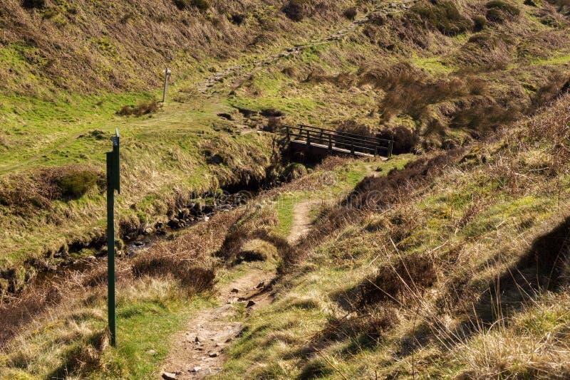 Vallée de Goyt photographie stock libre de droits