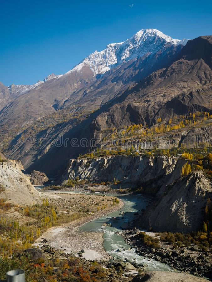 Vallée de Hunza images stock