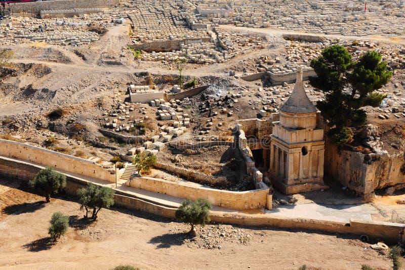 Vallée de Kidron photo stock