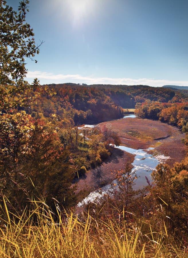Vallée de l'Arkansas photographie stock
