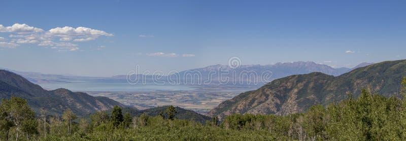 Vallée de l'Utah de boucle de Nebo photos stock