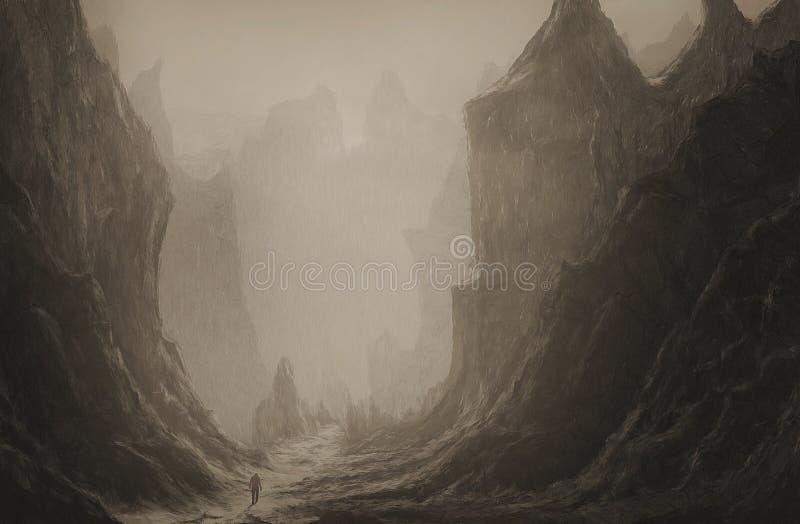 Vallée de la mort images libres de droits