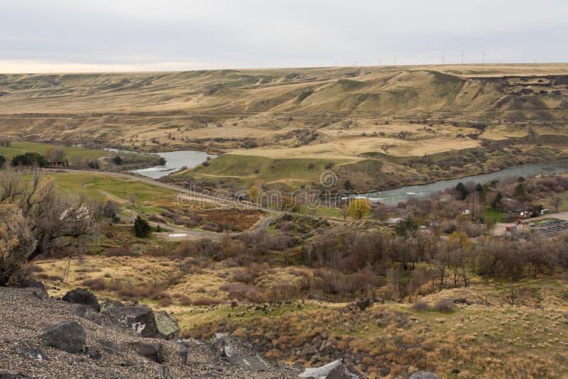 Vallée de la rivière Snake image stock