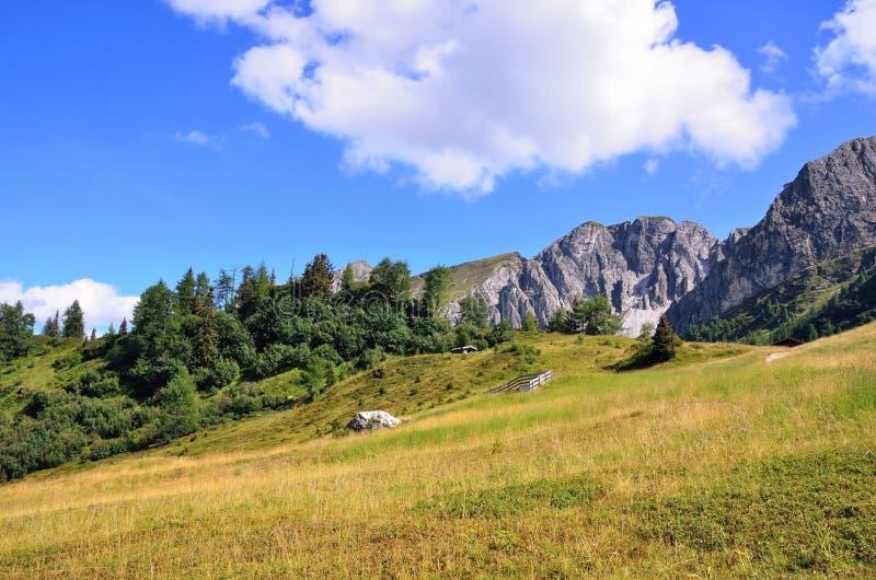 Vallée de Ladurns photo libre de droits