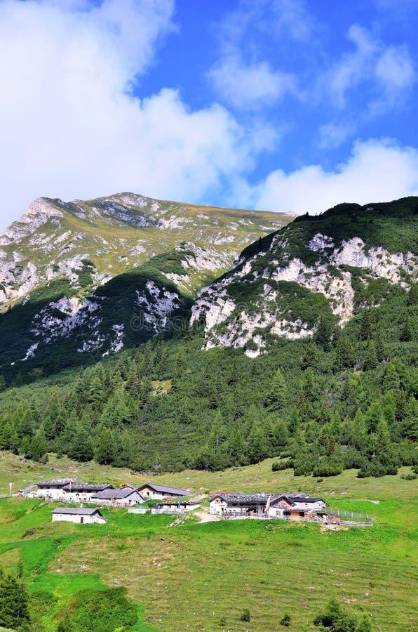 Vallée de Ladurns photos stock