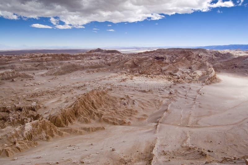 Vallée de lune (Chili) images stock