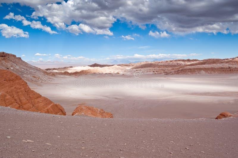 Vallée de lune (Chili) photographie stock