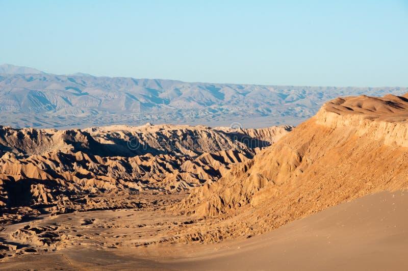 Vallée de lune, San Pedro de Ataca images libres de droits