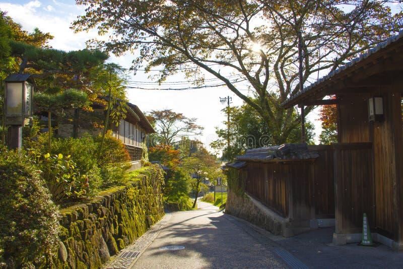 Vallée de maison du Japon photographie stock libre de droits