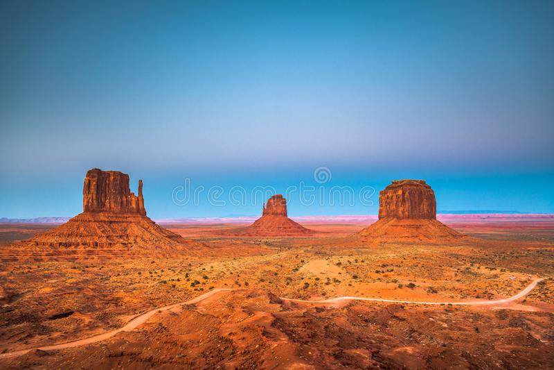 Vallée de monument, Arizona, Etats-Unis photographie stock