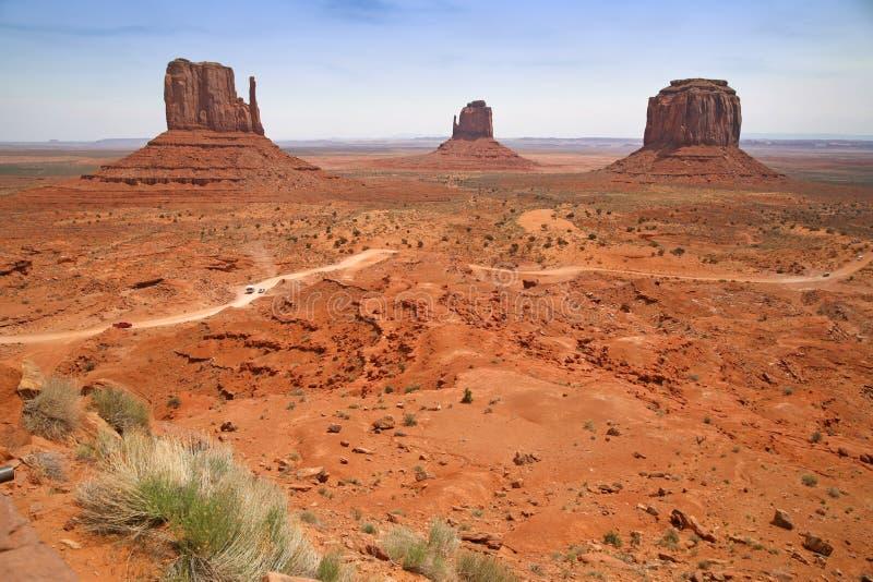 Vallée de monument, canyon de désert en Utah, Etats-Unis photographie stock