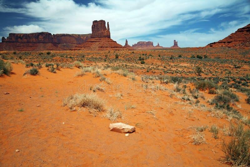 Vallée de monument, canyon de désert en Utah, Etats-Unis photo libre de droits