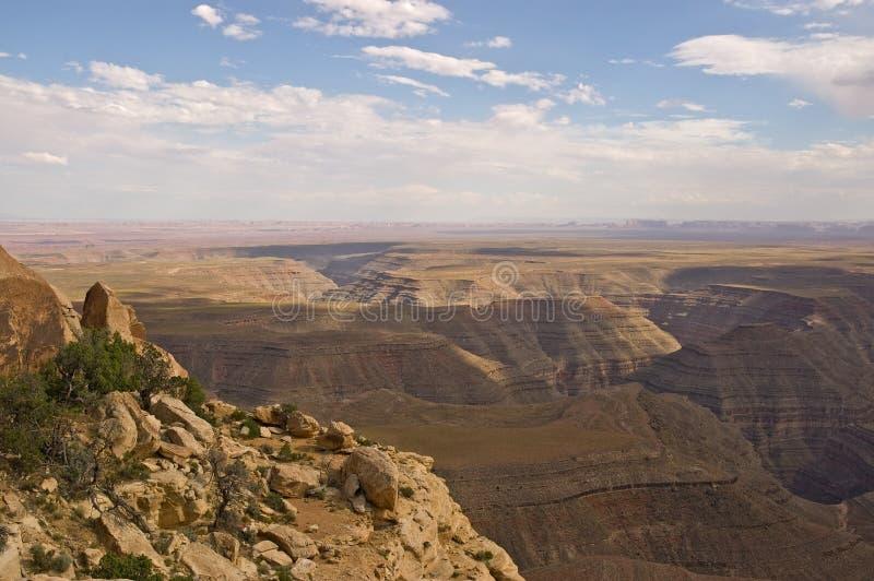 Vallée de monument de point de Muley image libre de droits