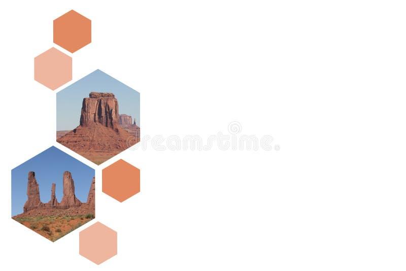 Vallée de monument, Etats-Unis illustration libre de droits