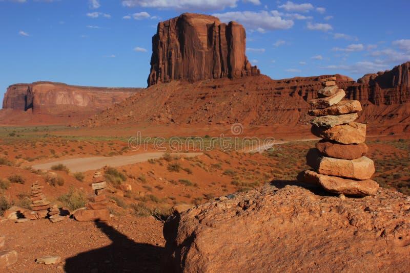 Vallée de monument, Etats-Unis image libre de droits