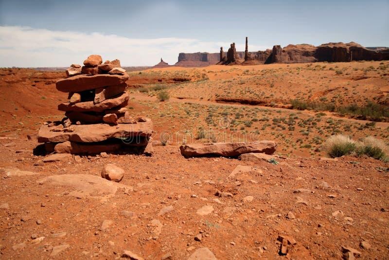 Vallée de monument, stationnement tribal de Navajo, Arizona, Etats-Unis photographie stock