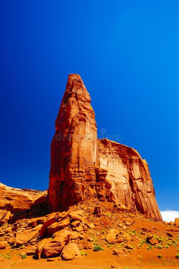 Vallée de monument, stationnement tribal de Navajo, Arizona, Etats-Unis image libre de droits
