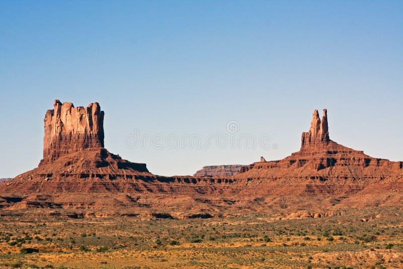 Vallée de monument, Utah photo libre de droits